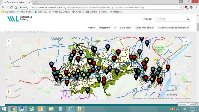 Online participatieplatform voor Waterschap Limburg